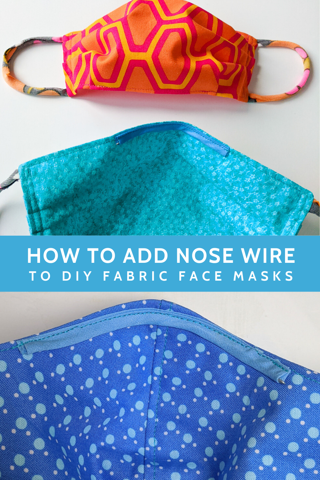 Photo of How to add nose wire to DIY fabric face masks