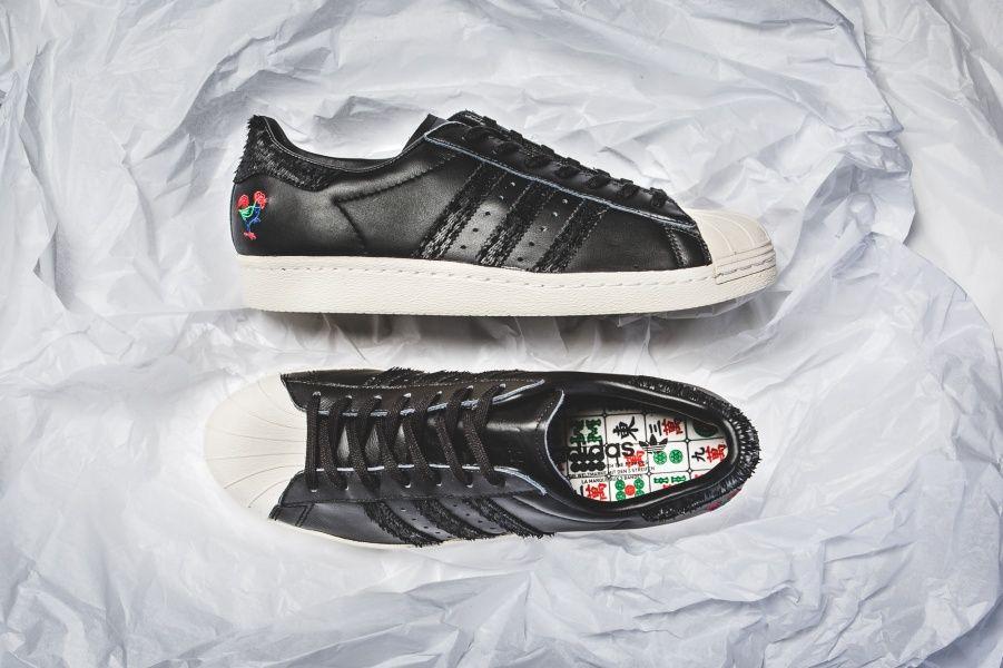 best service ac3b5 e8263 ... MIDNIGHT ONLINE Adidas Superstar 80s CNY « Chinese New Year » Credit  43einhalb Adidas ...