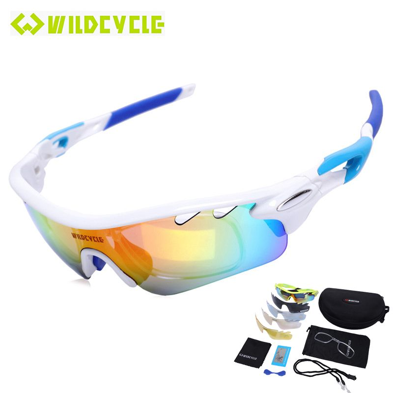 924b5b50f7 WILDCYCLE Women Men REVO Polarized Cycling Glasses Eyewear 2017 PC Lunette  Gafas Ciclismo Sport Bike Bicycle