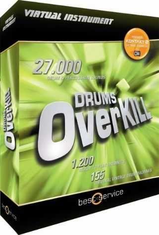 Drums Overkill Vsti Dxi Rtas Au Hybrid Dvdr Dynamics Vsti Rtas Overkill