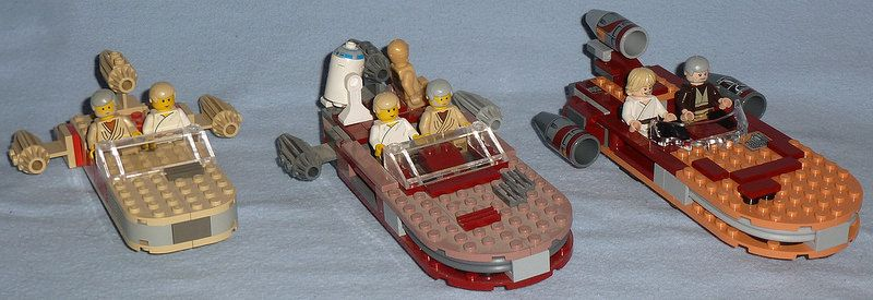 Lego Star Clone Wars 75052 MOS EISLEY CANTINA Luke Stormtrooper Xmas Present NEW