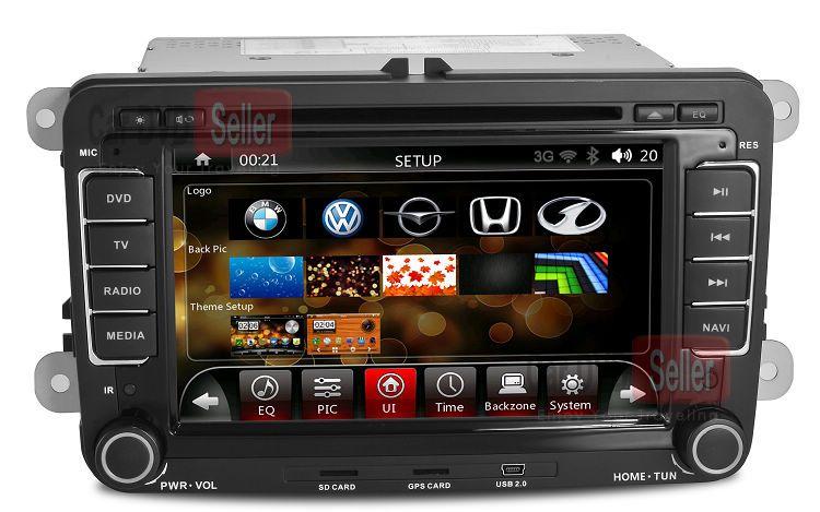 Head Unit Car PC Car DVD Player for Volkswagen Sagitar