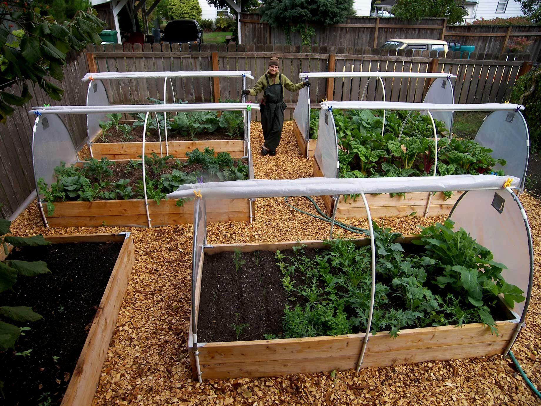 Kasteel voor vierkante moestuin | allotment | Pinterest | Gardens ...