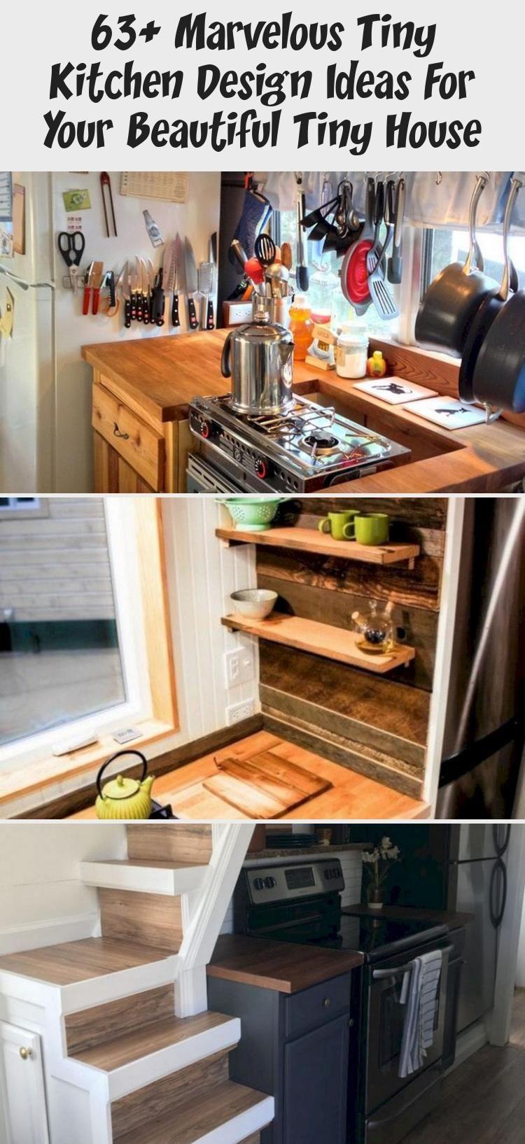 63 Marvelous Tiny Kitchen Design Ideas