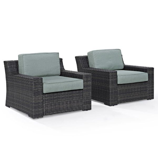 Bring The Style And Comfort Of Indoor Furniture To Your Outdoor Spaces With  This Deep Seating Arm Chair With Cushions. This Well Made, Sophisticateu2026
