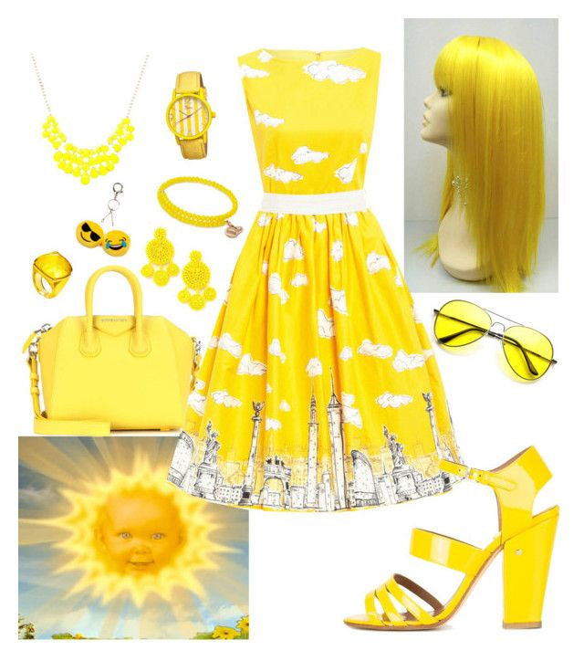 """""""Sun Baby"""" by agirlonearth on Polyvore featuring Laurence Dacade, Givenchy, Mochi, Baccarat, Boum, Alex and Ani and Carole"""
