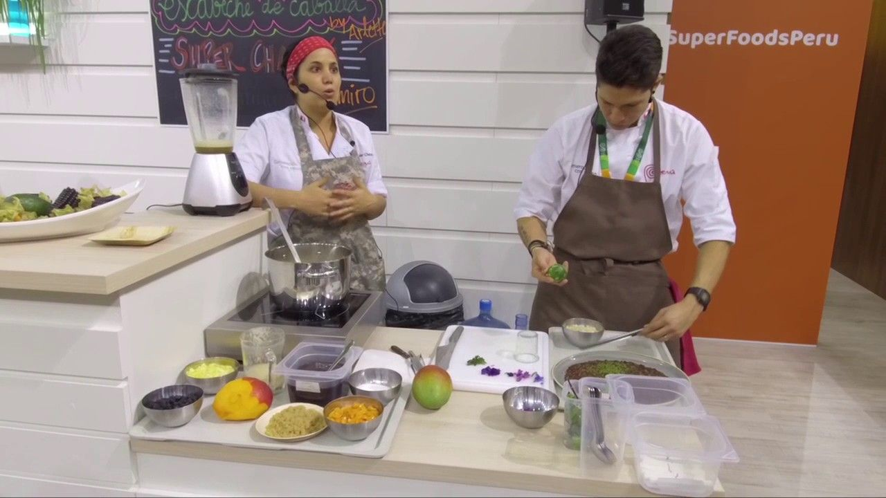 Show Cooking - Fruit Logistica 2017