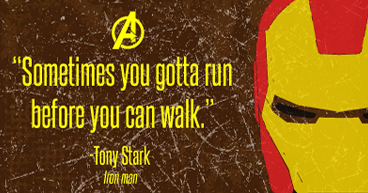 Inspirational Superhero Quotes Wise Words Marvel