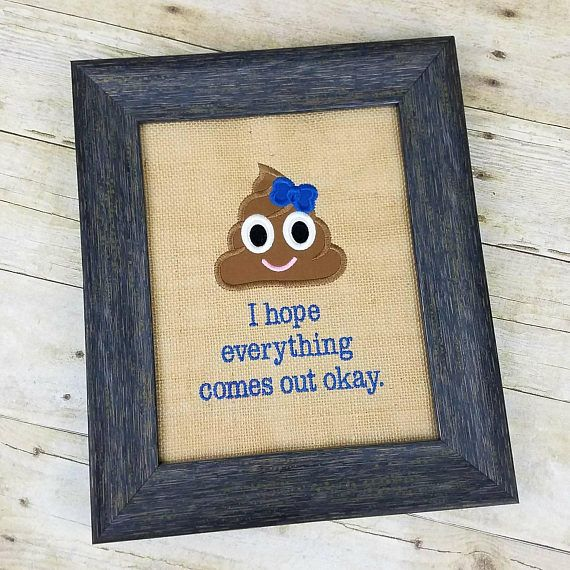 Really fun and quirky bathroom decor this embroidered for Quirky bathroom decor