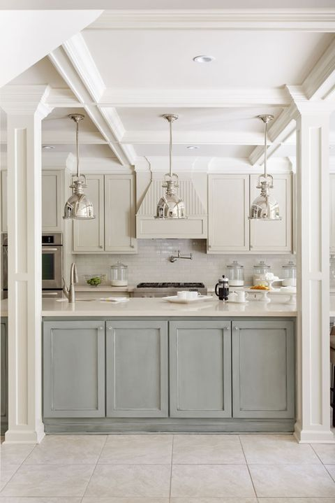 10 kitchen cabinet color combinations you ll actually want to commit to kitchen cabinets color on kitchen cabinets color combination id=57898