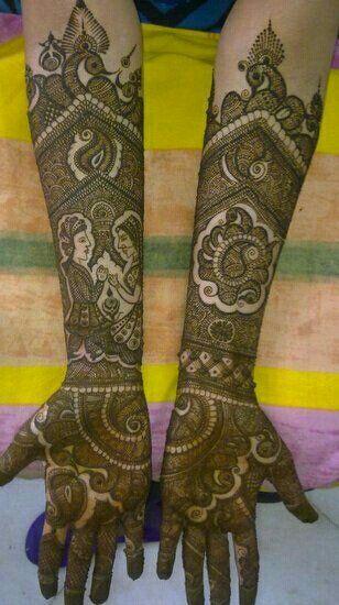 Portfolio Of Rakesh Bridal Mehendi Artist