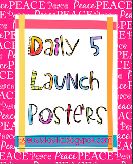 free printable daily five posters-pdf | Free Resources: Free ...
