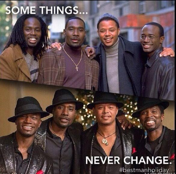The Men Of The Best Man Holiday... They Age Like Fine Wine