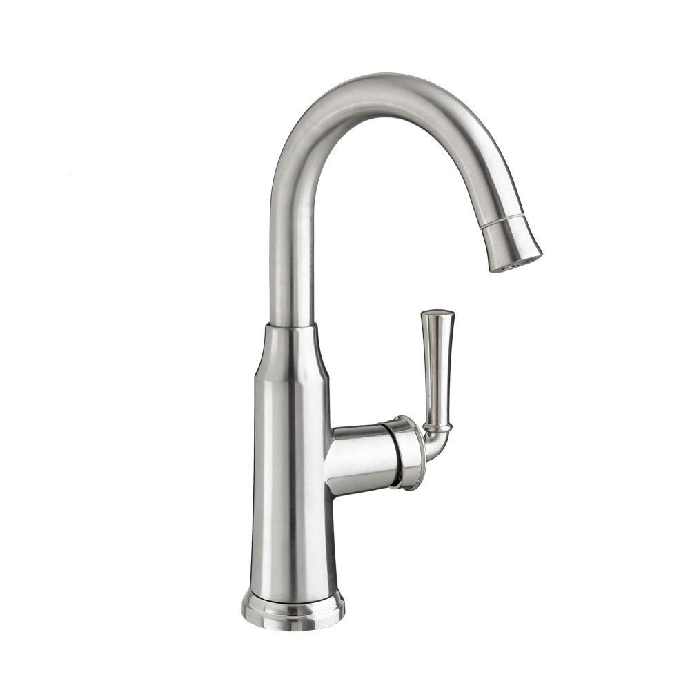 American Standard Portsmouth Single Handle Pull Down Bar Faucet In