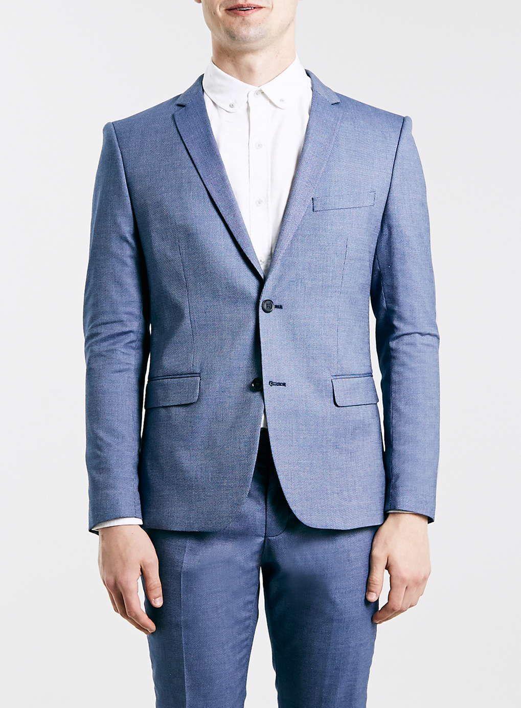 Selected Homme Slim Fit Navy Suit | TOPMAN Favorites | Pinterest ...