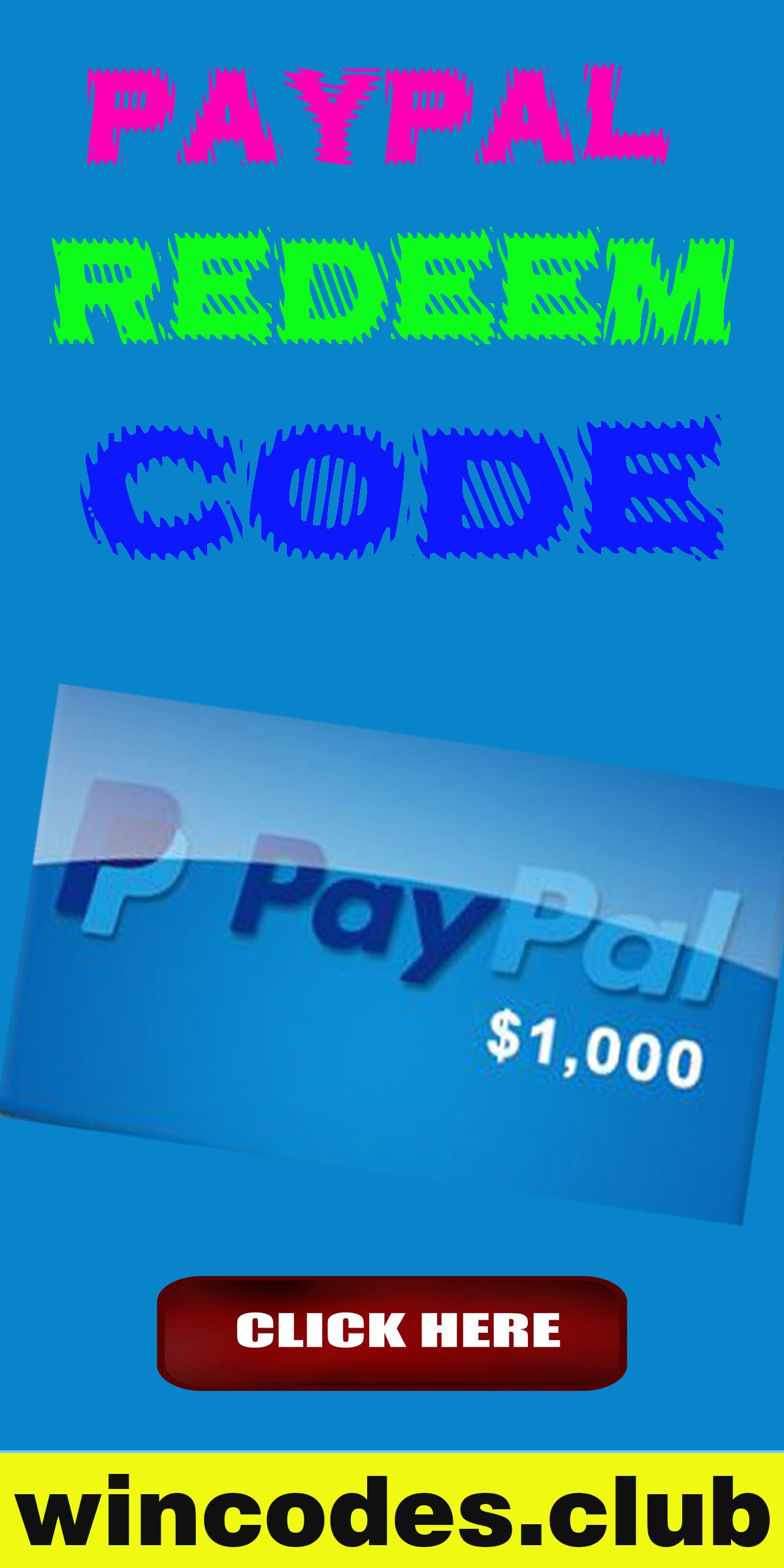Free paypal gift card in 2020 paypal gift card