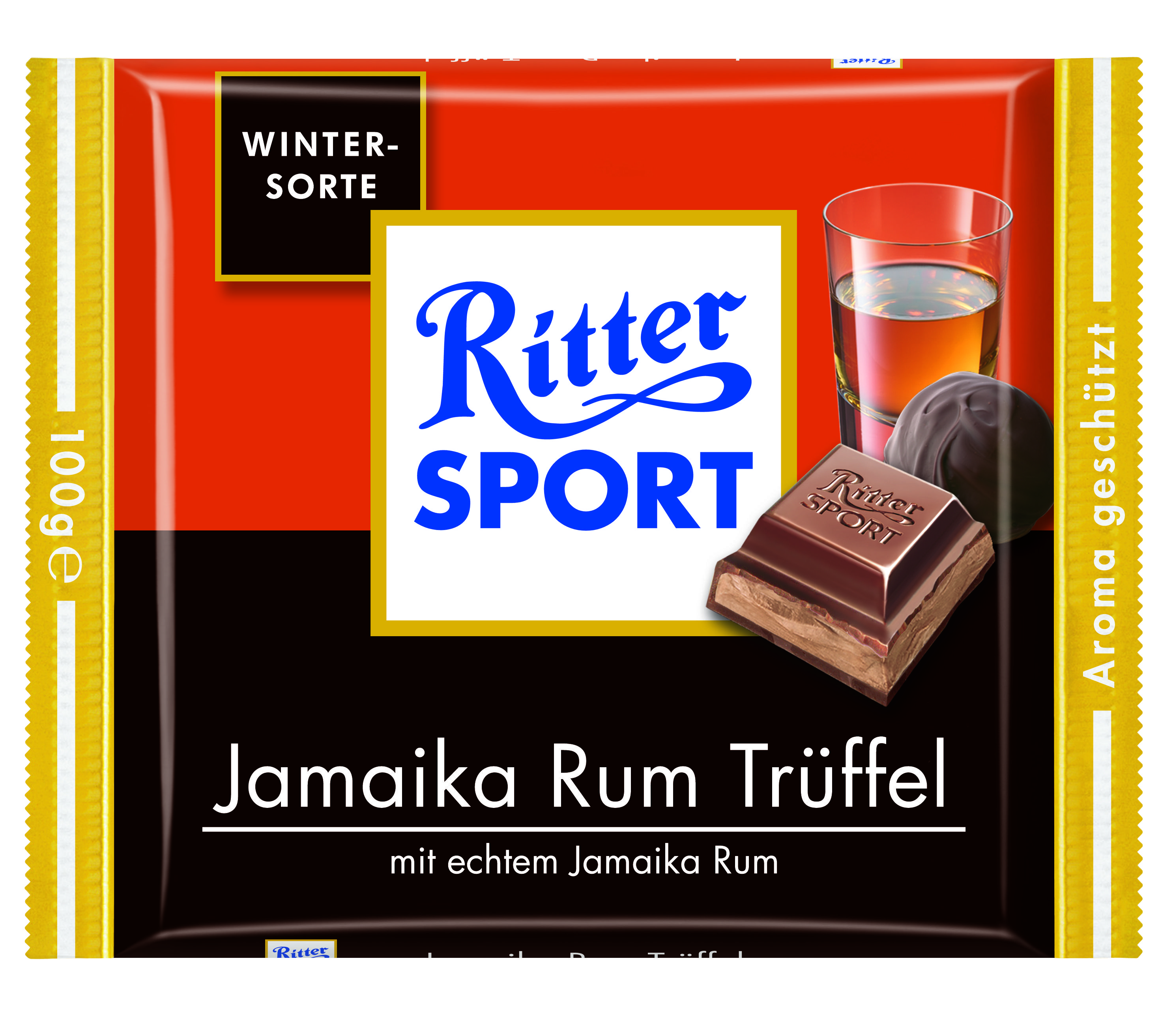 RITTER SPORT Jamaika Rum Trüffel (2008) Best candy bar