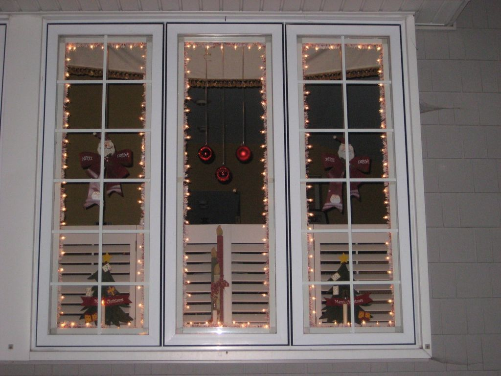 Christmas Window Lighting Frames  Christmas window lights, Xmas