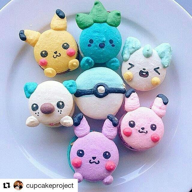 Which of them have you had in your pocket already?  #Repost @cupcakeproject with @repostapp  Who is playing #pokemongo? Trying to decide if I should pull the trigger and install it on my phone.  Cute macarons regrammed from @sweetswithsteph -  made by @honeyandbutter   #macarons #macaron #nomnom #foodstagram #pokemon #cookit #huffposttaste #huffingtonpost #buzzfeast #foodstagram #thekitchn #cutefood #foodwinewomen #foodstyling #foodporn #food52 #f52grams #anime  #beautifulcuisines #feedfeed…