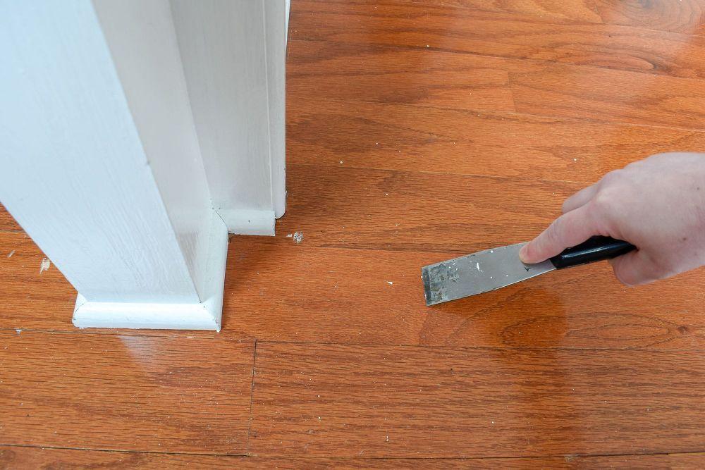 Dried Paint Removal On Hardwood Flooring Paint Remover Hardwood Floors Flooring