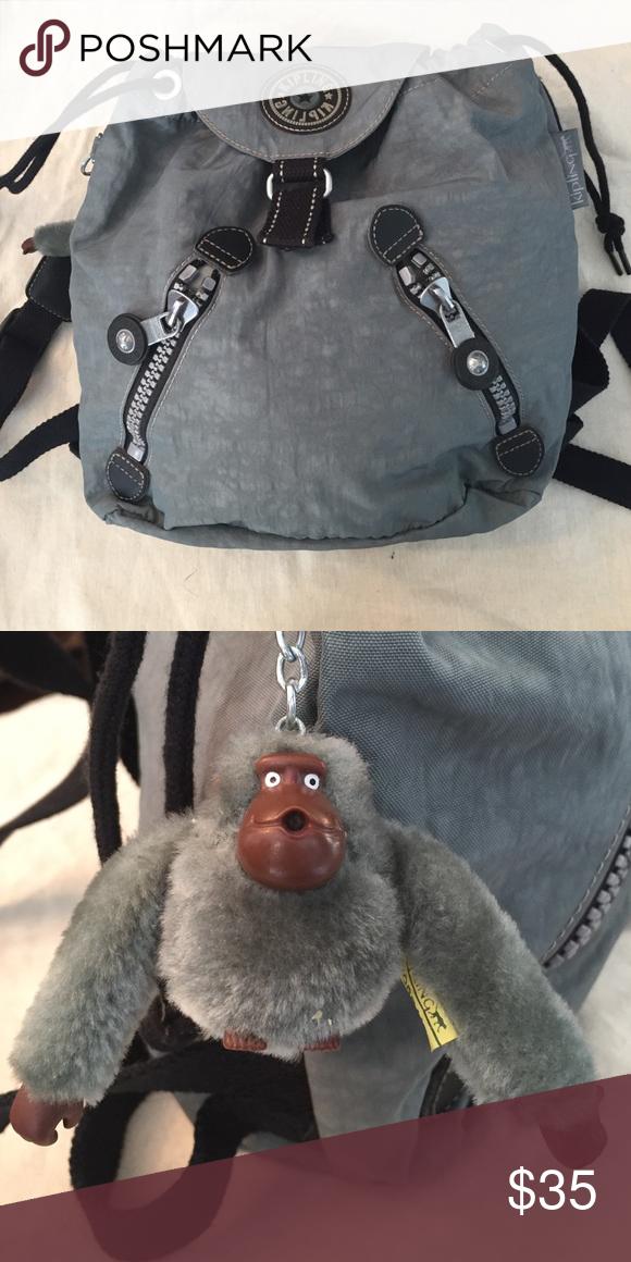 Kipling mini backpack Green Kipling mini backpack. Great condition Kipling Bags Backpacks