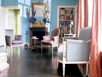 Purple Living Room Southern Accents Magazine How Light Affects Paint