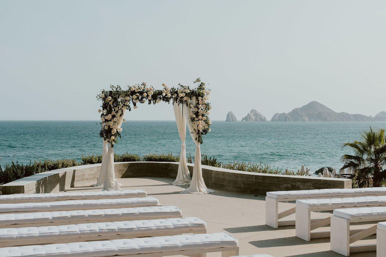 Modern Yet Classic Beach Wedding Cabo weddings, Ocean