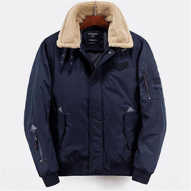 95d72ccb3123f 2017 winter jacket men size m-xxl high quality thicken men parka jacket  zipper fashion short men bomber jacket
