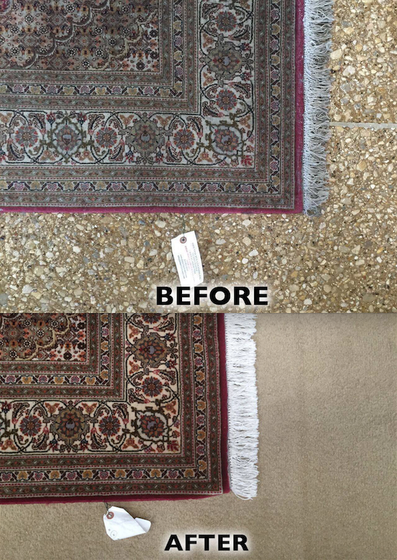 Check Out This Before And After Photos Of A Rug We Recently Cleaned Oriental Rug Cleaning Rugs Oriental Rug