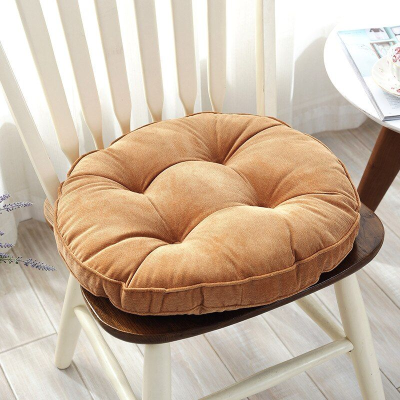 Round Thick Chair Cushion Floor Mattress Seat Pad Soft