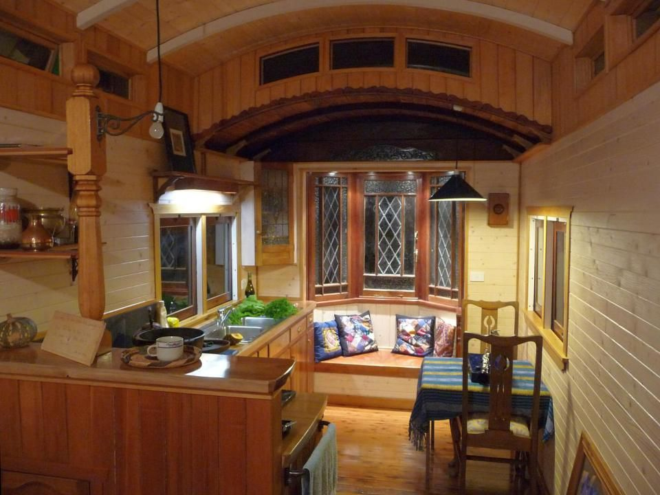 Matthew De Boer Restored A Derelict Train Carriage Handcrafting Beautiful And Cozy Living Space With 1 Bedroom In Sq Ft