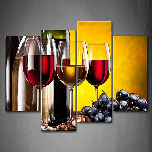 I really like this piece of wine framed wall art. This would make a ...