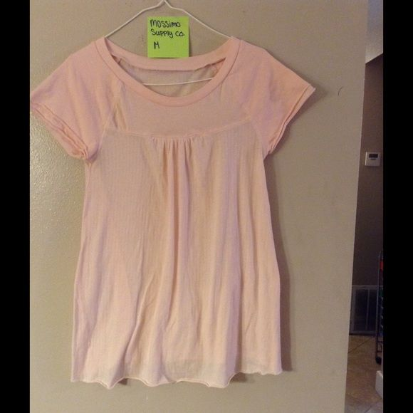 Light PINK Short Sleeve Shirt Light PINK. Short Sleeve. Great Condition. Washed. From A Smoke Free Environment Mossimo Supply Co. Tops Tees - Short Sleeve