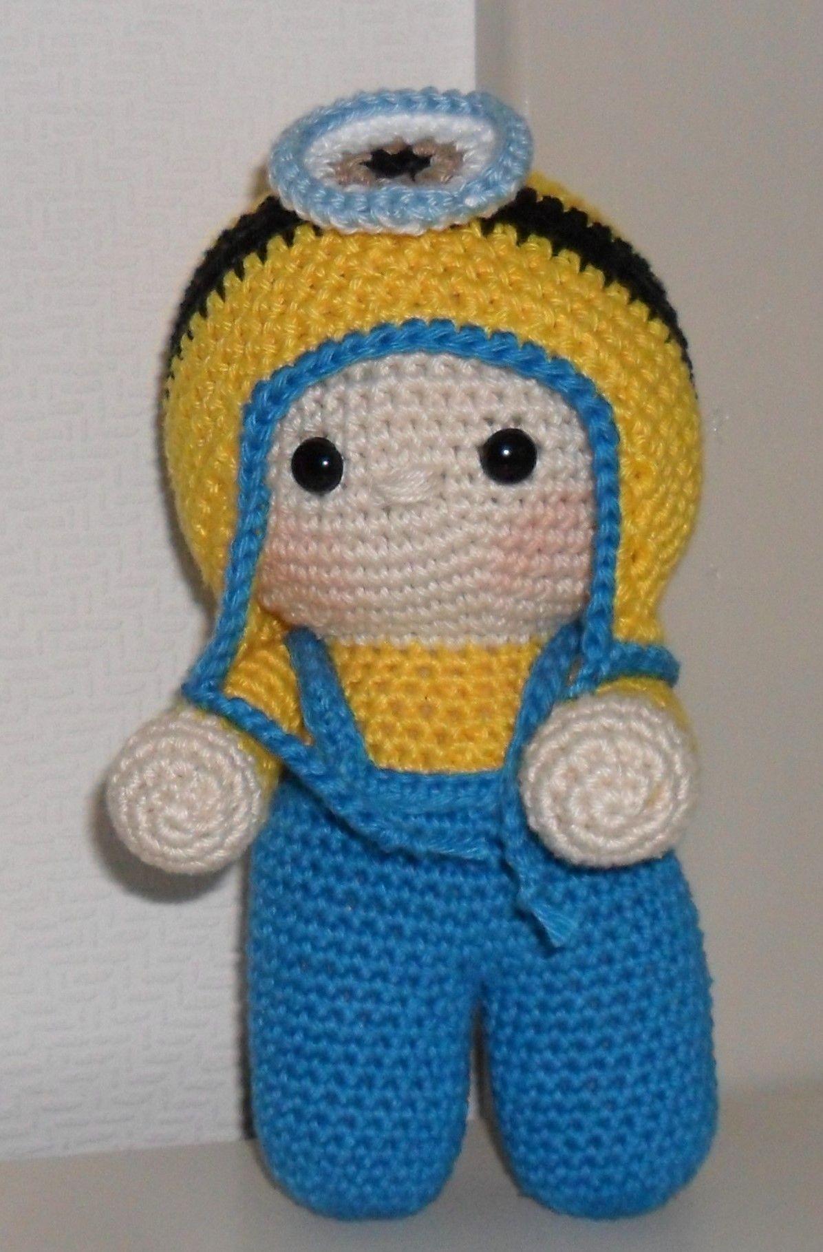 Big head doll crochet. Minion | Crochet Big Head dolls and clothes ...
