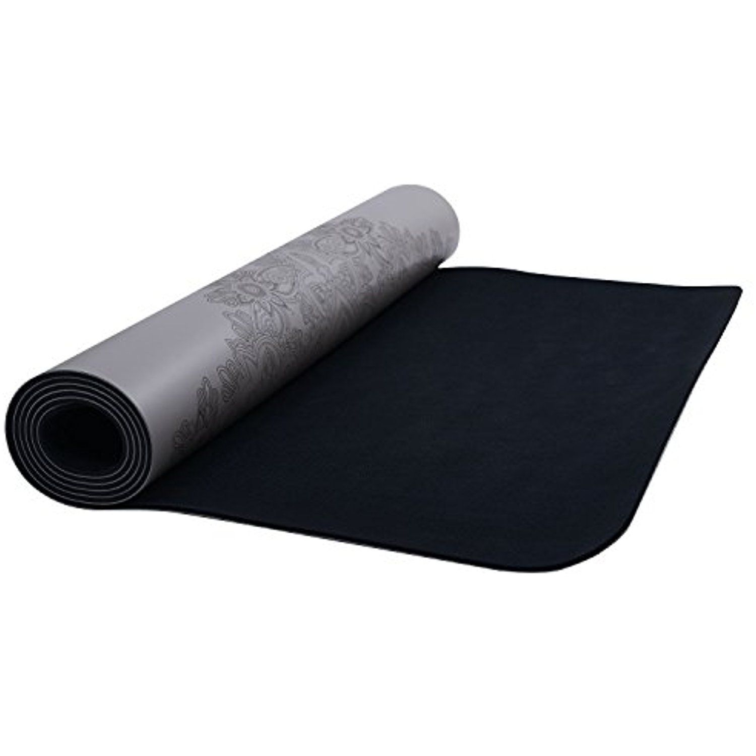 Yoga Mat 4 5mm Thick Made From Eco And Body Friendly Natural Rubber Sweat Grip Non Slip Perfect For Hot Yoga Pilates And Exerci Hot Yoga Exercise Yoga Mat Bag