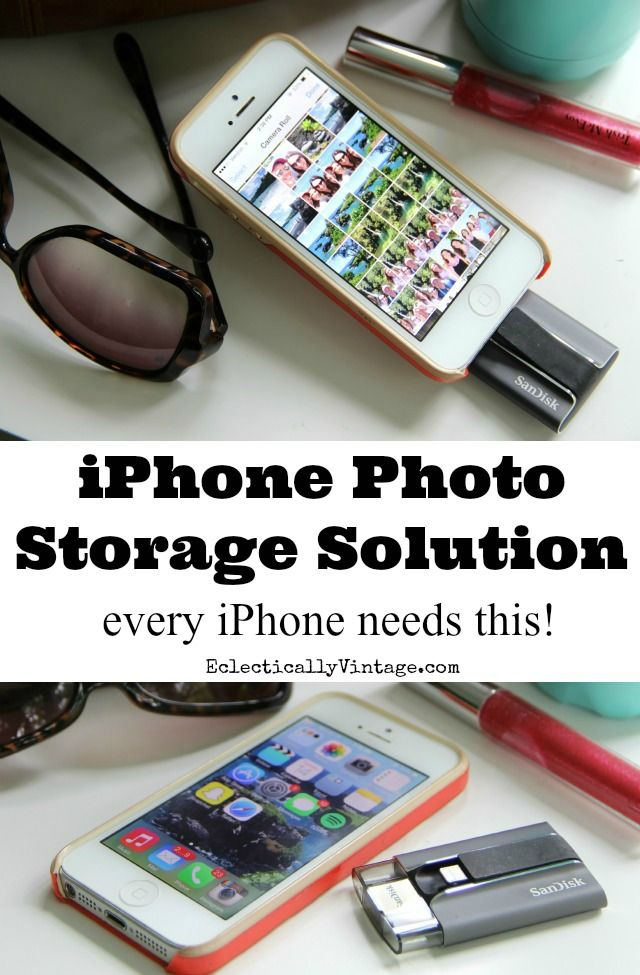 iPhone Photo Storage Solution iXpand review - every iPhone needs this!