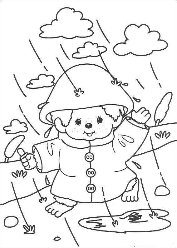 Monchhichis Coloring Pages 8 | Coloring Pages