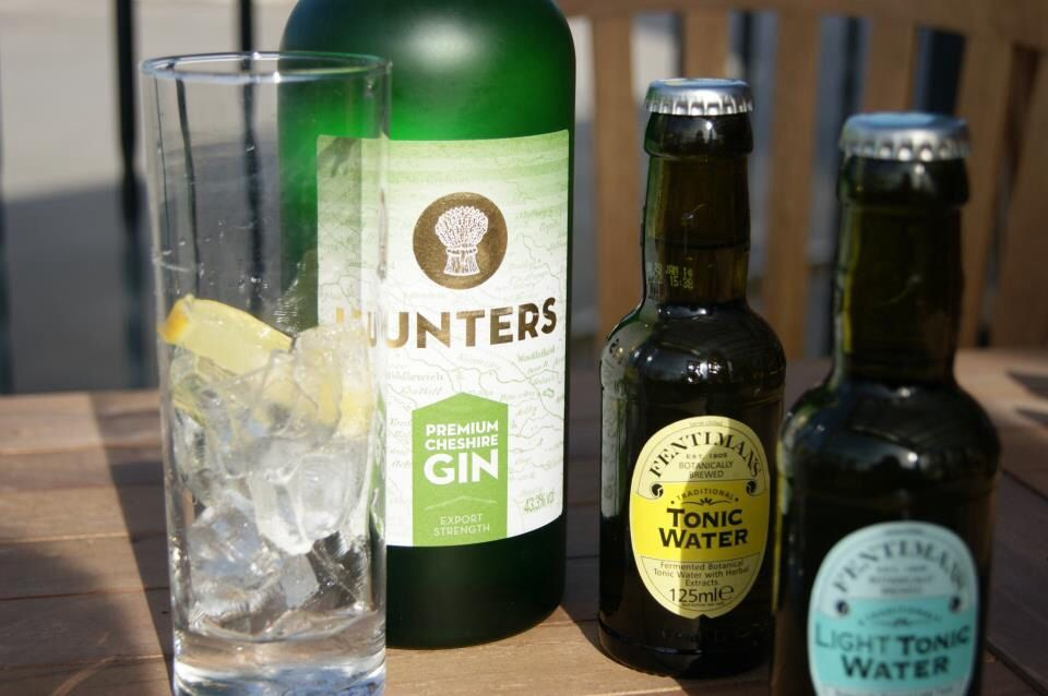 Hunters Is A Very Smooth Gin Best Served Over Ice With A
