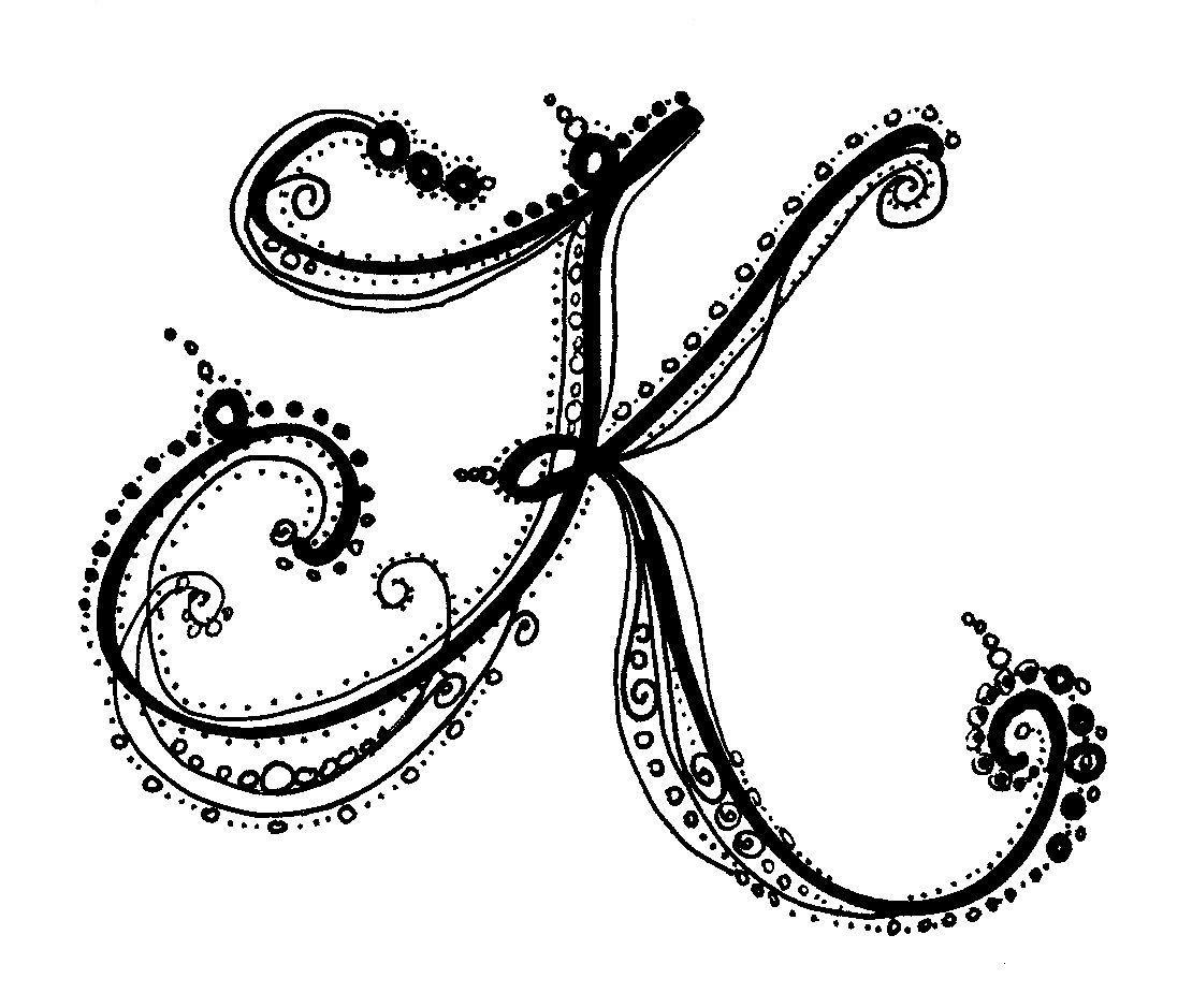 Versal Letter K dibujos t Lettering alphabet, Graffiti
