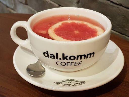 Hot Honey Grapefruit From Dal Komm Coffee Coffee Tea Cups Foodie