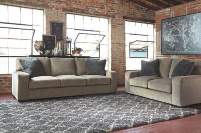Entwine Sofa And Loveseat By Ashley Homestore Smoke Products In