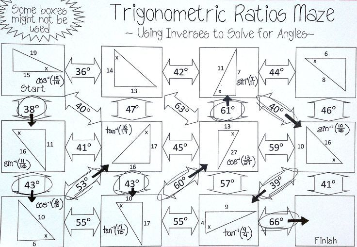 Pin on Right Triangles & Trigonometry