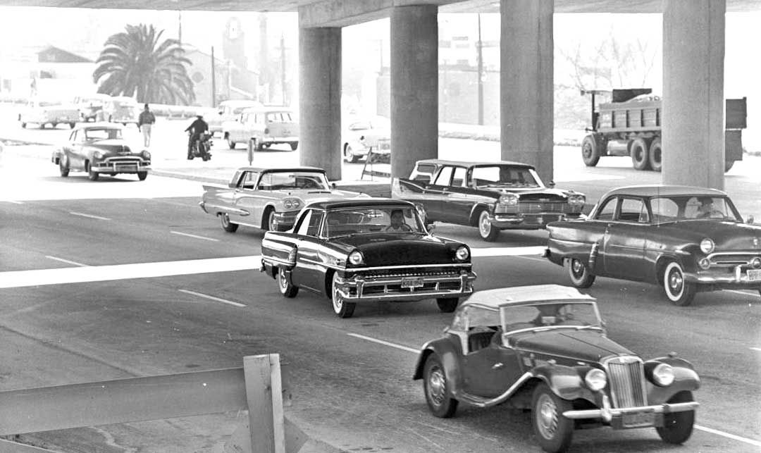 Thirties, Forties, and Fifties Los Angeles Boulevard and Freeway ...
