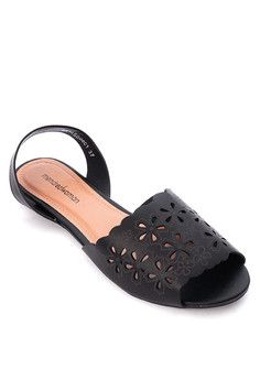 2b6a619a09abfb Mendrez Viola Flat Sandals  onlineshop  onlineshopping  lazadaphilippines   lazada  zaloraphilippines  zalora