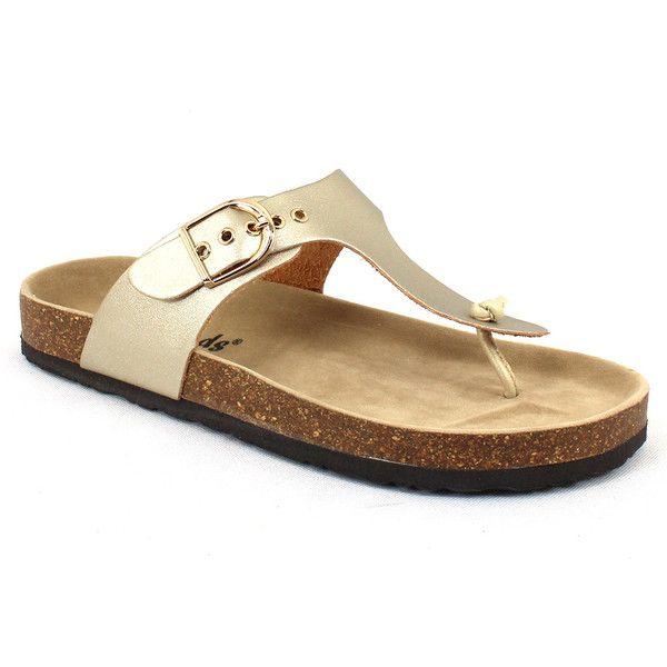 d931de43e78d Outwoods Women s Bork 37 Gold - 6 M Women s Shoes ( 25) ❤ liked on Polyvore  featuring shoes