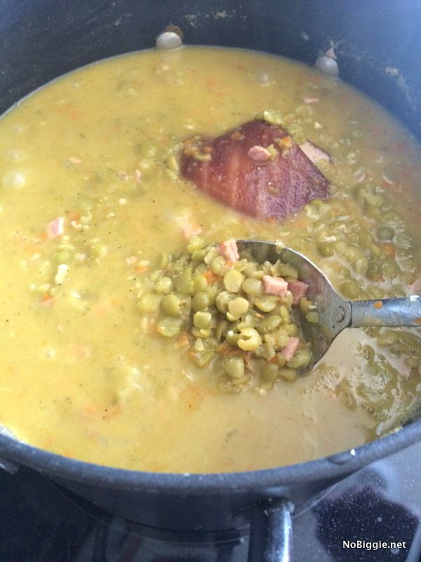 Classic Split Pea Soup with Ham   Recipe With images ...