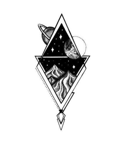 Photo of New Tattoo Geometric Space Dots 56+ Ideas