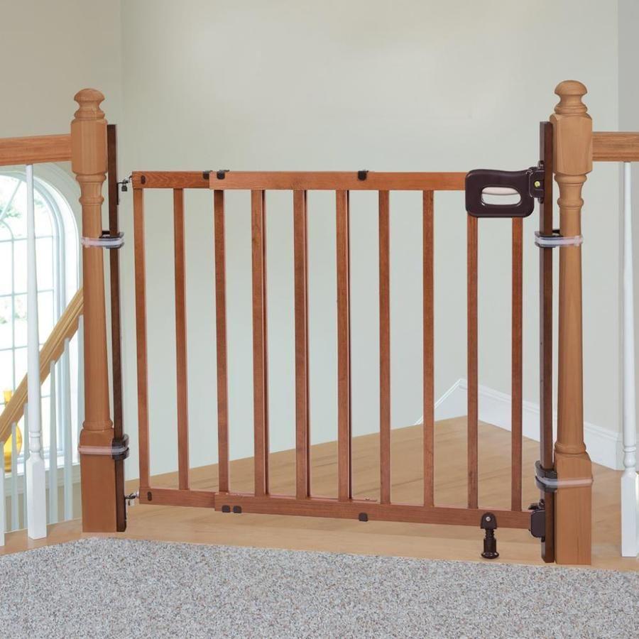 Summer Infant 36 75 In Brown Wood Safety Gate Extender Lowes Com