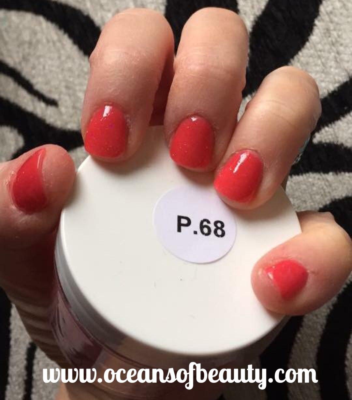 P.68 EZdip Gel Powder. DIY EZ Dip. No lamps needed, lasts 2-3 weeks ...