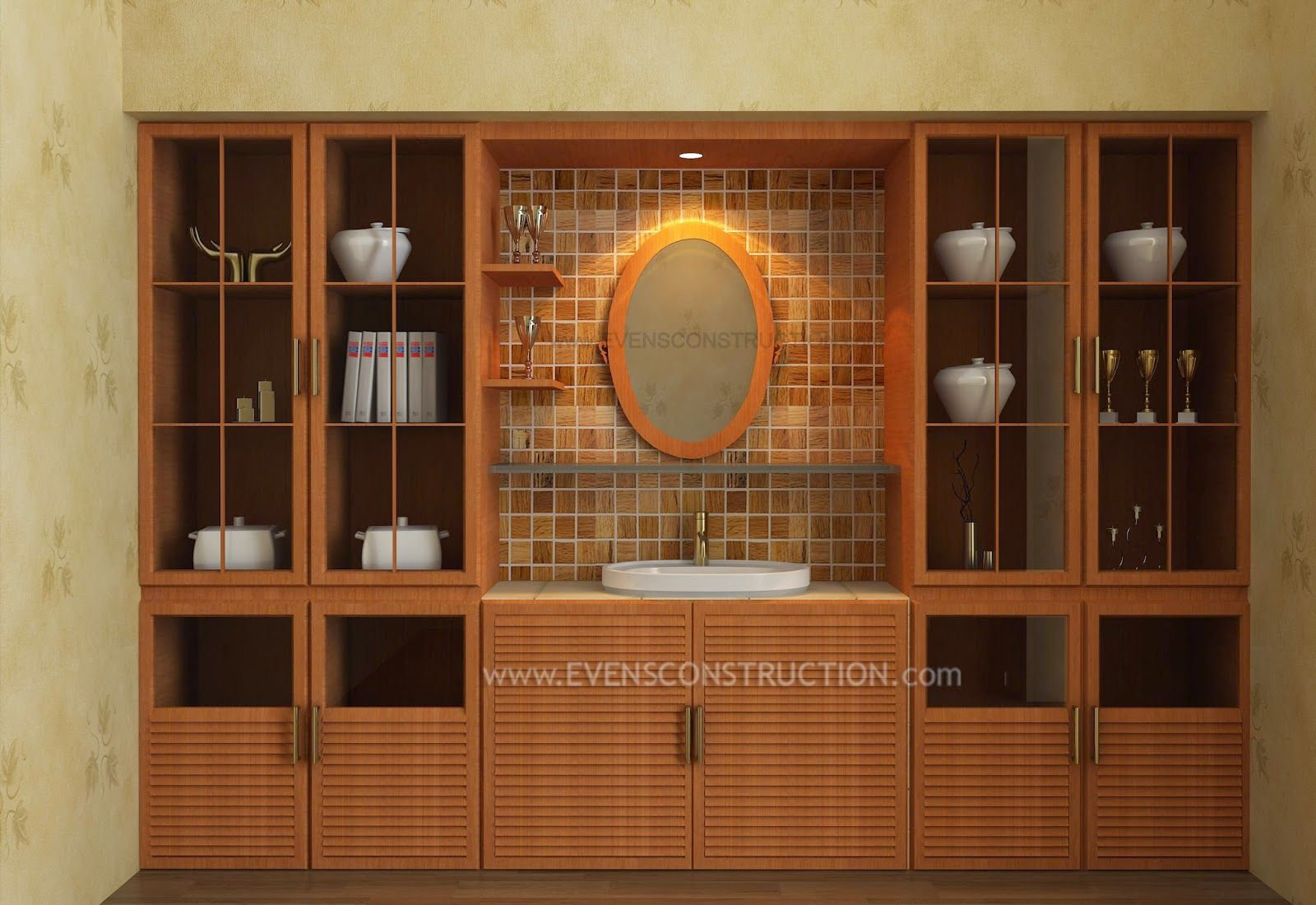 Crockery Cabinet Designs Dining Room